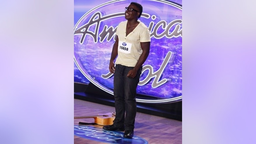 Mario Bonds performs in front of the 'American Idol' judges. Craig Blankenhorn / FOX.