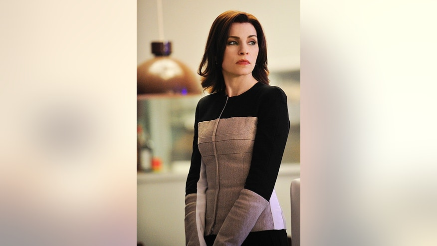 "Julianna Margulies in ""The Good Wife."""