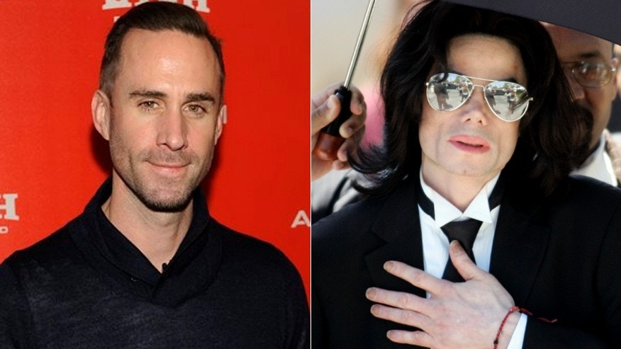 Joseph Fiennes, left, has been cast to play Michael Jackson in a TV drama.