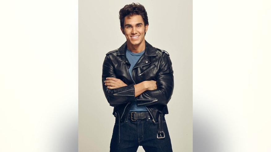 Carlos PenaVega as Kenickie in GREASE: LIVE airing LIVE Sunday, Jan. 31, 2016 (7:00-10:00 PM ET live/PT tape-delayed) on FOX.