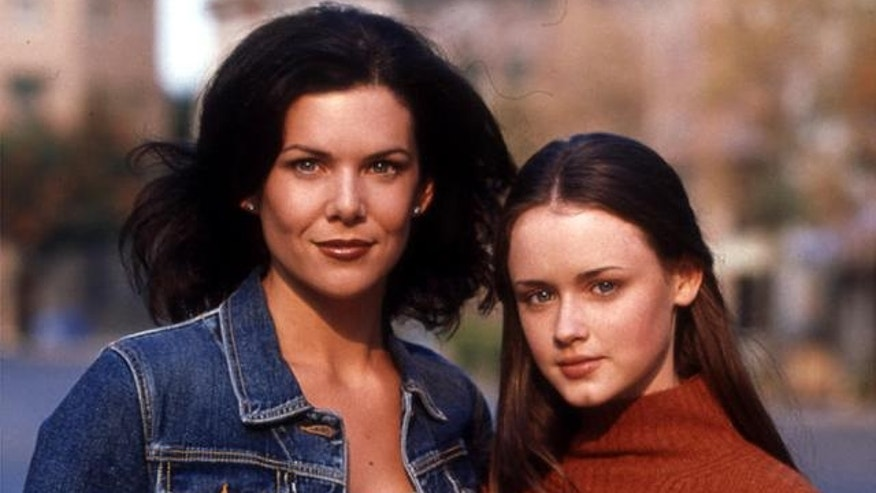 "Lauren Graham and Alexis Bledel in ""Gilmore Girls."""