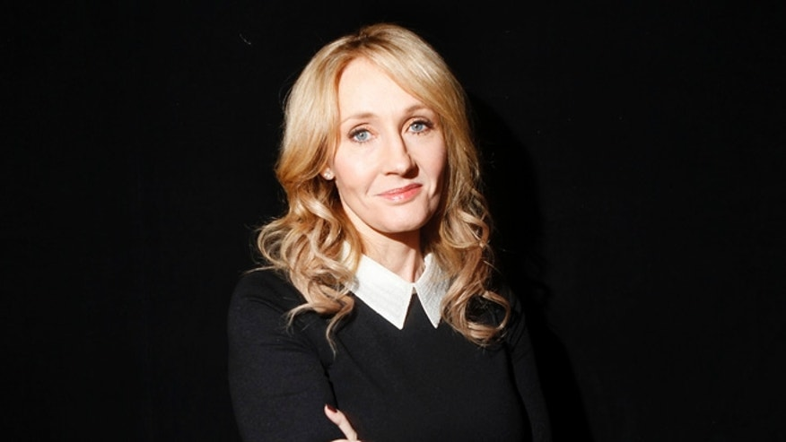 "October 16, 2012. Author J.K. Rowling poses for a portrait while publicizing her adult fiction book ""The Casual Vacancy"" at Lincoln Center in New York."