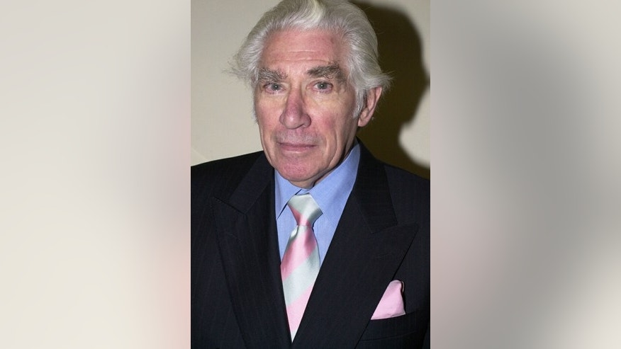 This is a Jan. 25, 2001 file photo of actor Frank Finlay at the South Bank Awards in London.