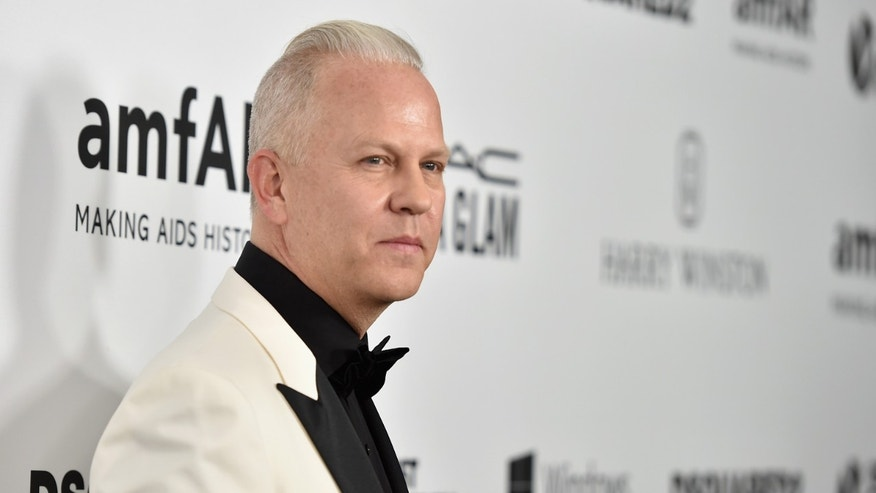 Producer Ryan Murphy on October 29, 2015 in Hollywood, California.