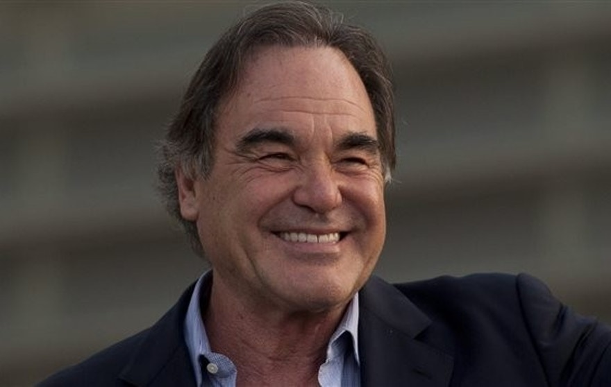 Film director Oliver Stone has film rights to a book about El Chapo. (AP)