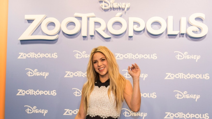 BARCELONA, SPAIN - FEBRUARY 03:  Shakira attends 'Zootropolis' premiere at Cinesa Diagonalon February 3, 2016 in Barcelona, Spain.  (Photo by Xavi Torrent/Getty Images)