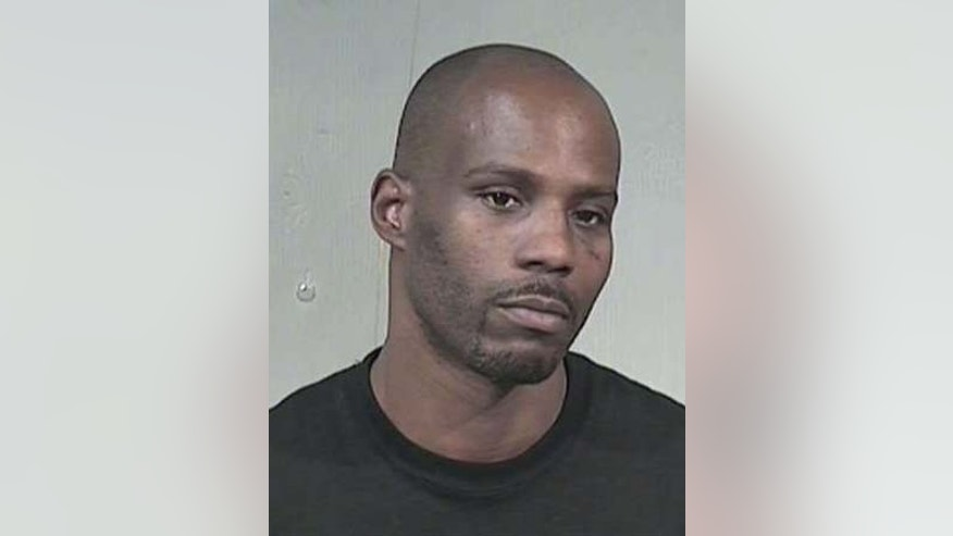 In this July 19, 2008 booking photo provided by the Maricopa County Sheriff's Office, rapper DMX is shown.