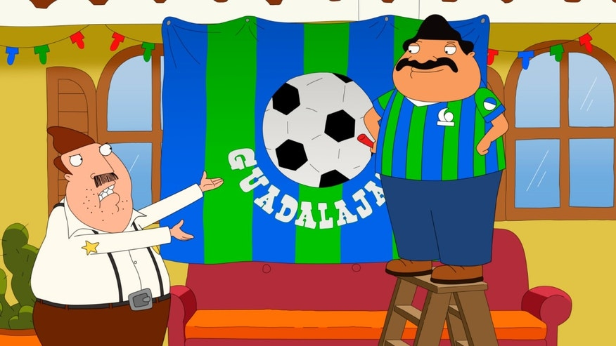 """BORDERTOWN: Ernesto and Bud in the all-new """"High School Football"""" episode of BORDERTOWN airing Sunday, Feb. 14 (9:30-10:00 PM ET/PT) on FOX. BORDERTOWN ™ and © 2016 TCFFC ALL RIGHTS RESERVED."""