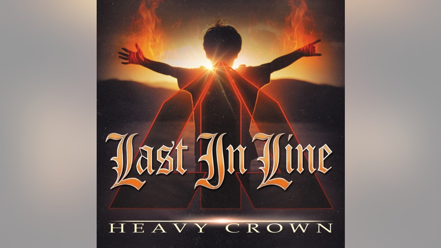"This CD cover image released by Frontiers SRL shows ""Heavy Crown,"" a release by Last In Line. (Frontiers SRL via AP)"