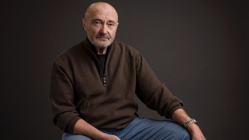 Feb. 2, 2016. Musician Phil Collins poses for a portrait in New York.