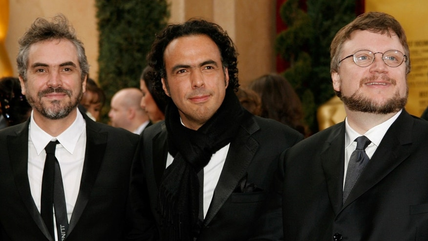 Alfonso Cuaron, Alejandro Gonzalez Inarritu and Guillermo del Toro  at the Kodak Theatre on February 25, 2007.