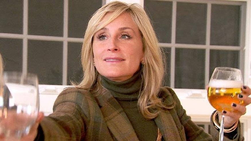 """Real Houswife"" star Sonja Morgan."