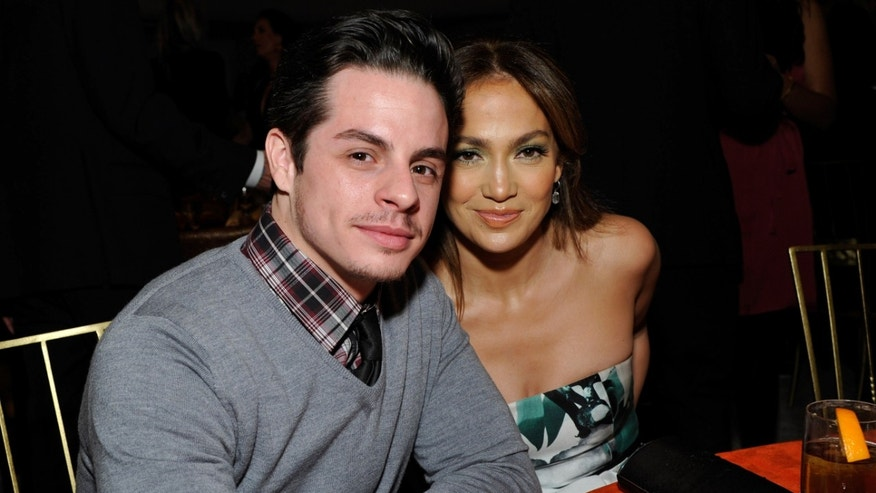 Casper Smart and Jennifer Lopez in Beverly Hills, California, on a December 2013 file photo.