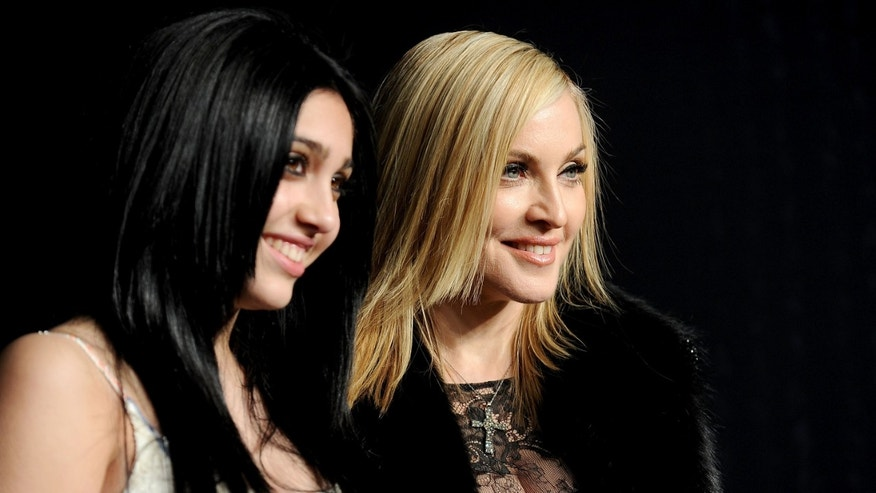 Lourdes Leon and Madonna in a February, 2011 file photo.