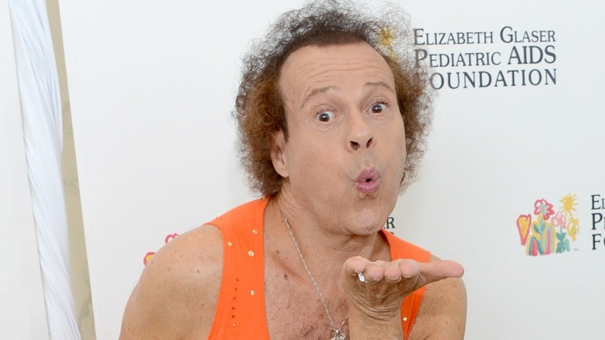 Richard Simmons on June 2, 2013 in Los Angeles, California.