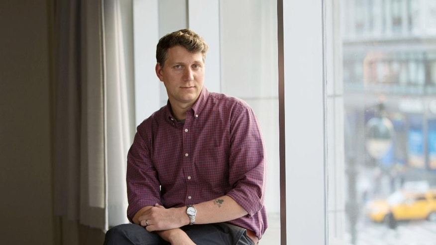 "This March 6, 2016 photo shows director Jeff Nichols posing for a portrait in New York to promote his film, ""Midnight Special."" (Photo by Amy Sussman/Invision/AP)"