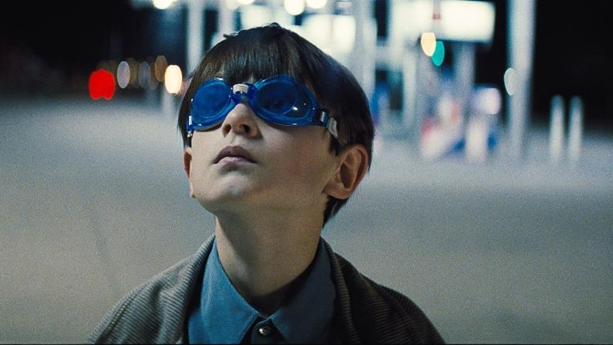 "This image released by Warner Bros. Entertainment shows Jaeden Lieberher in a scene from ""Midnight Special."" (Warner Bros. Entertainment via AP)"