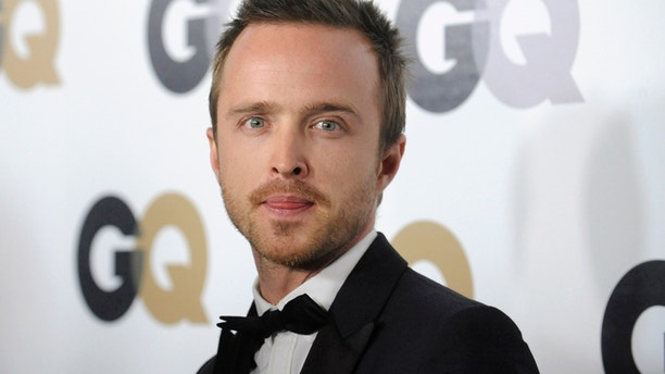 """Actor Aaron Paul attends the GQ """"Men of the Year"""" party in Los Angeles November 17, 2011. REUTERS/Phil McCarten (UNITED STATES - Tags: ENTERTAINMENT HEADSHOT PROFILE) - RTR2U5WI"""