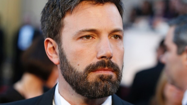 Argo director Ben Affleck arrives at the 85th Academy Awards in Hollywood, California February 24, 2013.