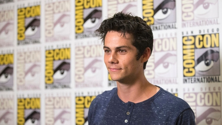 July 25, 2014. Dylan O'Brien at Comic-Con in San Diego.