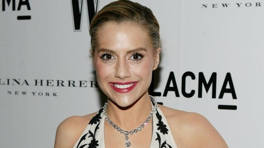 Actress Brittany Murphy.