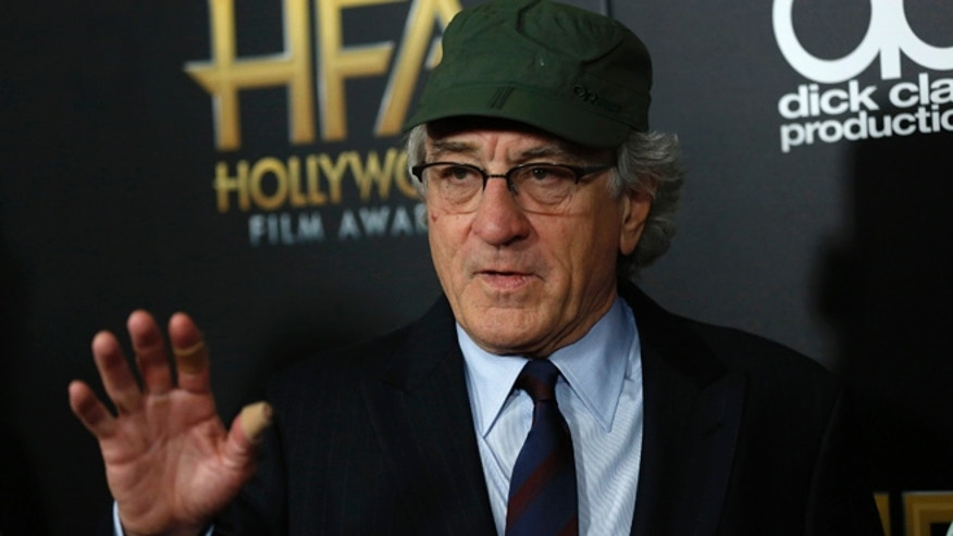 November 1, 2015. Actor Robert De Niro arrives at the Hollywood Film Awards in Beverly Hills, California.