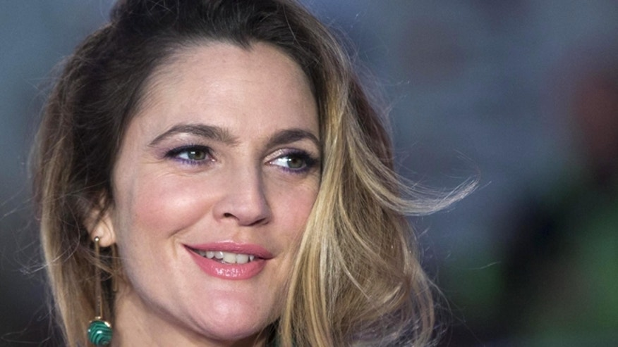 "September 17, 2015. Drew Barrymore poses for the London premiere of ""Miss You Already."""