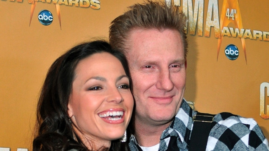 November 10, 2010. Singer/songwriters Joey + Rory arrive at the 44th annual Country Music Association Awards in Nashville, Tennessee.