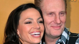 Singer/songwriters Joey + Rory, nominees for Vocal Duo of the Year, arrive at the 44th annual Country Music Association Awards in Nashville, Tennessee November 10, 2010.
