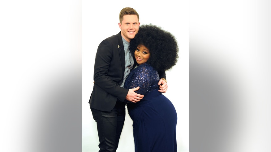 AMERICAN IDOL: Top 2 Revealed: L-R: Top 2 contestants Trent Harmon and LaPorsha Renae on AMERICAN IDOL. Michael Becker/ FOX.
