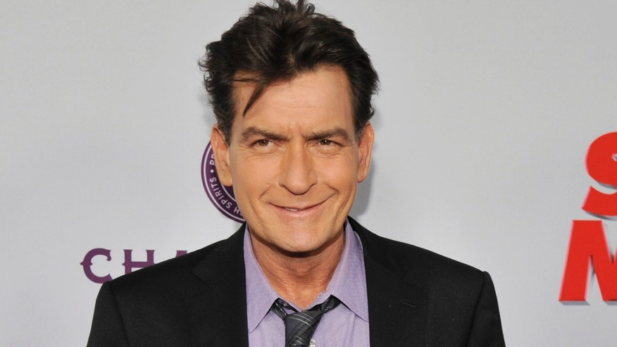 Charlie Sheen in an April 2013 file photo.