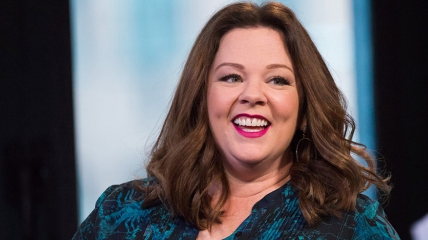 April 6, 2016: Melissa McCarthy participates in AOL's BUILD speaker series to discuss her new film 'The Boss' at AOL Studios in New York. (Photo by Charles Sykes/Invision/AP)