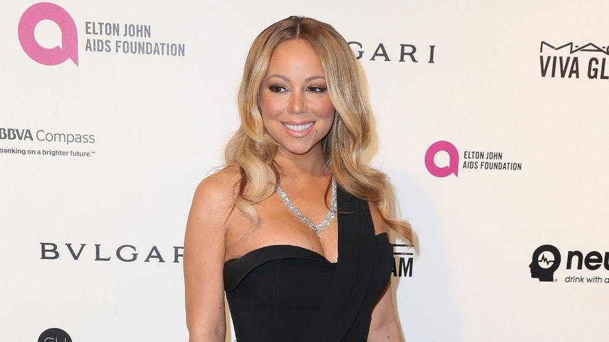 WEST HOLLYWOOD, CA - FEBRUARY 28:  Singer Mariah Carey attends the 24th Annual Elton John AIDS Foundation's Oscar Viewing Party on February 28, 2016 in West Hollywood, California.  (Photo by Frederick M. Brown/Getty Images)