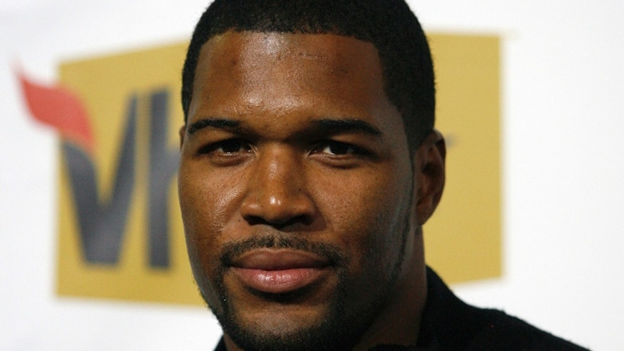 Oct. 2, 2008: Former NFL player Michael Strahan arrives at the 2008 VH1 Hip Hop Honors event in New York.