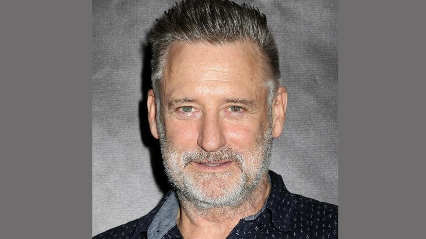 """FILE - In this May 10, 2015 file photo, actor Bill Pullman attends the 30th Annual Lucille Lortel Awards in New York. Pullman reprises his role as President Whitmore in the """"Independence Day,"""" sequel, """"Independence Day: Resurgence,"""" in theaters nationwide on June 24, 2016.  (Photo by Greg Allen/Invision/AP, File)"""