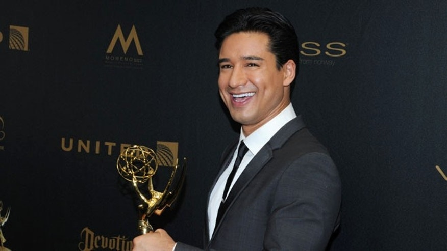 Mario Lopez at the Westin Bonaventure Hotel on Sunday, May 1, 2016, in Los Angeles.