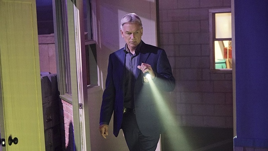 """Return to Sender"" -- Gibbs (Mark Harmon, pictured) and Senior FBI Agent T.C. Fornell unite after two British prisoners, including a former spy, escape and arrive stateside via a shipping container, on NCIS, Tuesday, April 19 (8:00-9:00 PM, ET/PT), on the CBS Television Network. Photo: Bill Inoshita/CBS ©2016 CBS Broadcasting, Inc. All Rights Reserved"