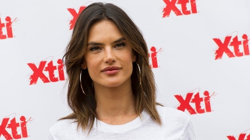 MADRID, SPAIN - APRIL 29:  Alessandra Ambrosio attends 'Xti' new collection presentation at Me Hotel on April 29, 2016 in Madrid, .  (Photo by Juan Naharro Gimenez/Getty Images)