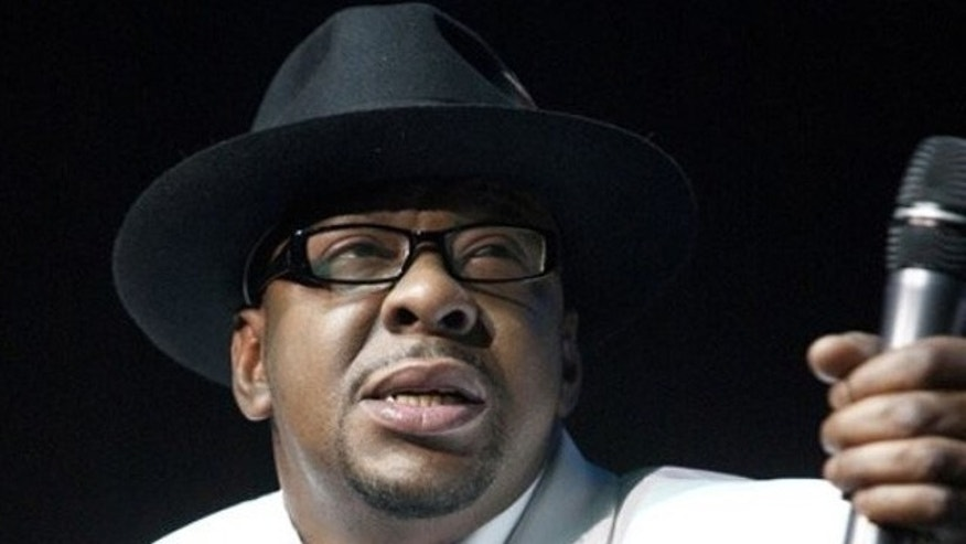 Bobby Brown performing in 2012.