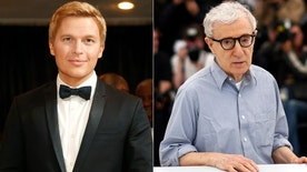Ronan Farrow Woody Allen split reuters