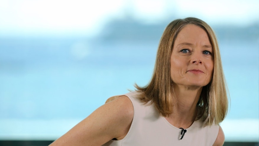 Director Jodie Foster poses for photographers during a photo call for the Women In Motion talks at the 69th international film festival, Cannes, southern France, Thursday, May 12, 2016. (AP Photo/Thibault Camus)