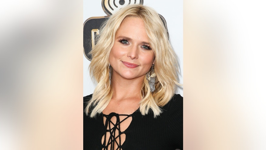 Miranda Lambert attends the 2016 iHeartRadio Country Festival held at Frank Erwin Center on Saturday, April 30, 2016, in Austin, Texas. (Photo by John Salangsang/Invision/AP)