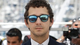 Actor Shia Labeouf poses for photographers during a photo call for the film American Honey at the 69th international film festival, Cannes, southern France, Sunday, May 15, 2016. (AP Photo/Lionel Cironneau)