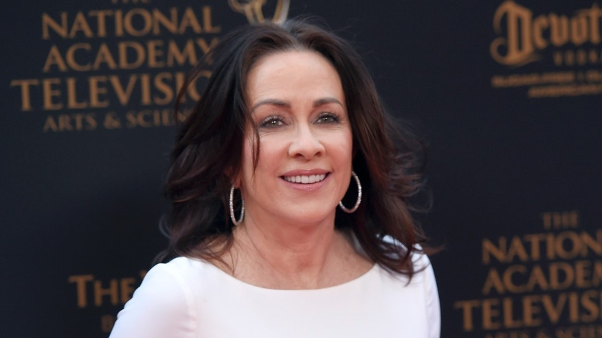Patricia Heaton arrives at the Daytime Creative Arts Emmy Awards at the Westin Bonaventure Hotel on Friday, April 29, 2016, in Los Angeles. (Photo by Chris Pizzello/Invision/AP)