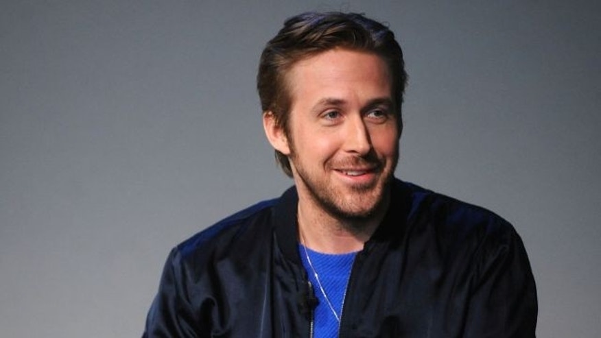 Ryan Gosling at a talk in 2015.