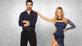 "DANCING WITH THE STARS - NYLE DIMARCO AND PETA MURGATROYD - The stars grace the ballroom floor for the first time on live national television with their professional partners during the two-hour season premiere of ""Dancing with the Stars,"" which airs MONDAY, MARCH 21 (8:00-10:01 p.m., ET) on the ABC Television Network. (ABC/Craig Sjodin)"