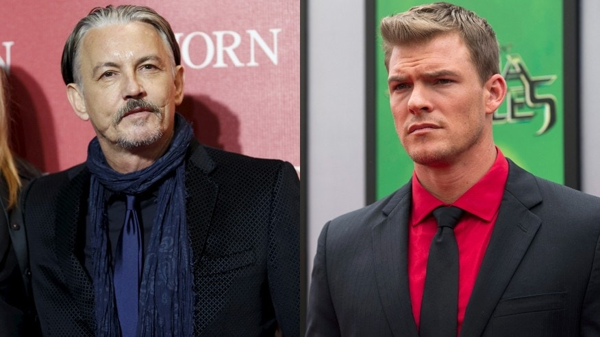 Tommy Flanagan (left) and Alan Ritchson.