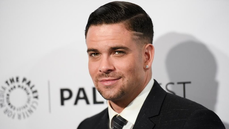 "In this March 13, 2015 file photo, Mark Salling arrives at the 32nd Annual Paleyfest ""Glee"" held at The Dolby Theatre in Los Angeles."