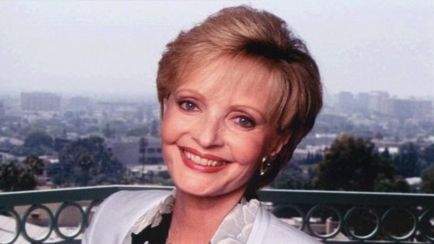 """Florence Henderson from """"The Brady Bunch."""""""
