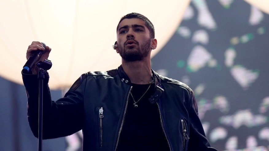Zayn Malik had trouble saying the word 'innovative' at a charity gala